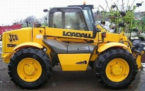 JCB 504B 526 Telescopic Handler Service Repair Workshop Manual DOWNLOAD