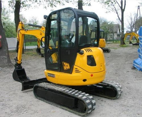 JCB 8025Z 8030Z 8035Z Mini Excavator Service Repair Workshop Manual INSTANT DOWNLOAD