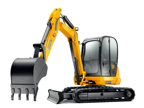 JCB 8055 8065 Midi Excavator Service Repair Workshop Manual DOWNLOAD