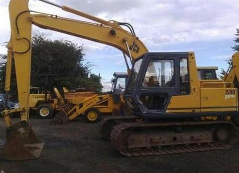 JCB JS110 JS130 JS150LC Tracked Excavator Service Repair Workshop Manual DOWNLOAD