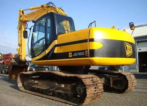 JCB JS115 Auto Tier3 JS130 Auto Tier3 JS145 Auto Tier3 Tracked Excavator Service Repair Workshop Manual DOWNLOAD