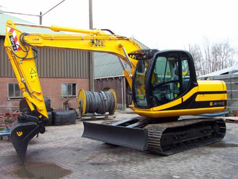 JCB JS115 JS130 JS130LC JS145 JS160 JS180 Tracked Excavator Service Repair Workshop Manual INSTANT DOWNLOAD