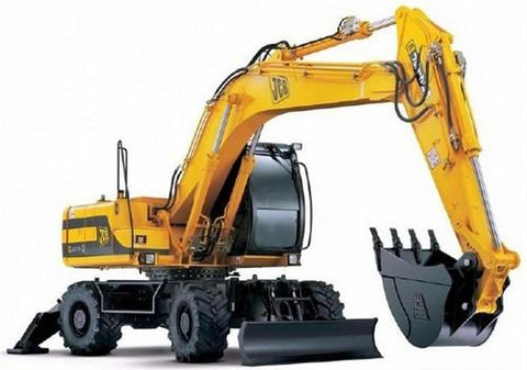 JCB JS175W Auto Wheeled Excavator Service Repair Workshop Manual INSTANT DOWNLOAD