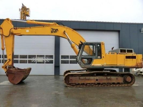 JCB JS200LC JS240LC JS300LC JS450LC Tracked Excavator Service Repair Workshop Manual DOWNLOAD