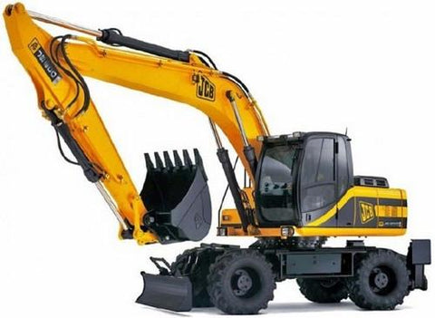 JCB JS200W Auto Tier3 Wheeled Excavator Service Repair Workshop Manual INSTANT DOWNLOAD