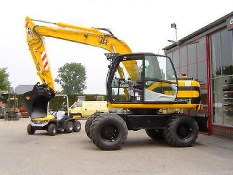 JCB JS200W Wheeled Excavator Service Repair Workshop Manual DOWNLOAD