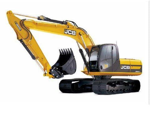 JCB JS200 JS210 JS220 JS240 JS260 Tracked Excavator Service Repair Workshop Manual INSTANT DOWNLOAD