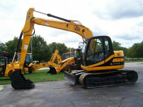 JCB JZ140 Tier II Tracked Excavator Service Repair Factory Manual INSTANT DOWNLOAD