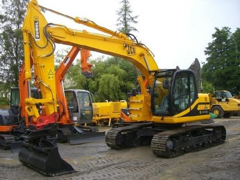 JCB JZ235 JZ255 Tracked Excavator Service Repair Workshop Manual DOWNLOAD