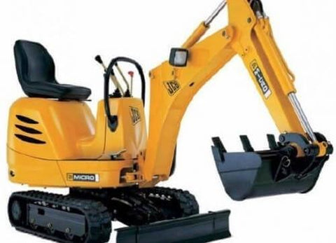 JCB Micro, Micro Plus, 8008, 8010 Excavator Service Repair Workshop Manual INSTANT DOWNLOAD