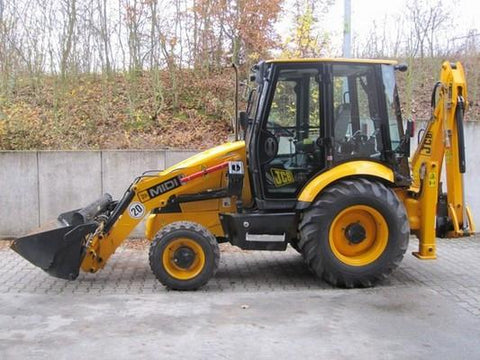 JCB Midi CX Backhoe Loader Service Repair Workshop Manual INSTANT DOWNLOAD (SN: 972021 to 985136, 1327001 to 1349999)