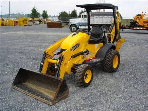 JCB Mini CX Backhoe Loader Service Repair Workshop Manual DOWNLOAD