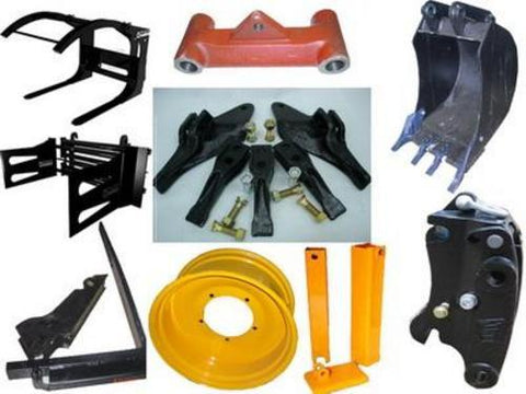 JCB Tractor Attachments Kits Fitting Instructions Manual