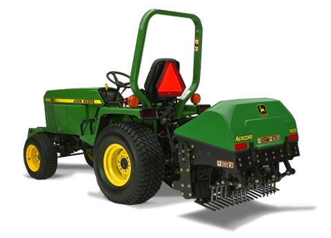 John Deere 1000, 1500, and 2000 Aercore Tractor-Mounted Aerators Operators Manual