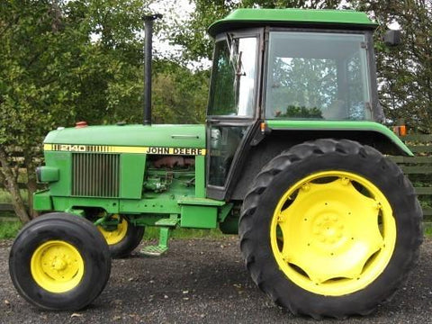 John Deere 2140 Tractor Workshop Service Manual
