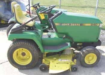 John Deere 240 and 250 Skid Steers Operators Manual