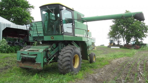 John Deere 6620 COMBINE WITH 653 ROW-CROP HEAD Parts Catalog