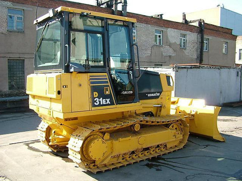 Komatsu D31EX-21, D31PX-21, D37EX-21, D37PX-21, D39EX-21, D39PX-21 Galeo Bulldozer Operation & Maintenance Manual DOWNLOAD