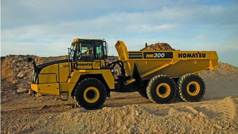 Komatsu HM300-3 Articulated Dump Truck Service Repair Workshop Manual DOWNLOAD