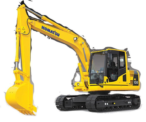 1999 Komatsu PC130-6K Shop Service Manual