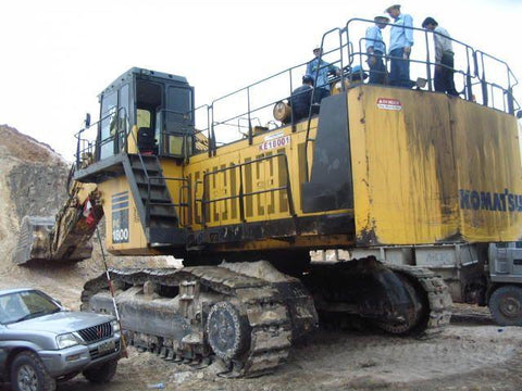 Komatsu PC1800-6 Hydraulic Excavator Service Repair Workshop Manual DOWNLOAD (SN: 10002 and up)