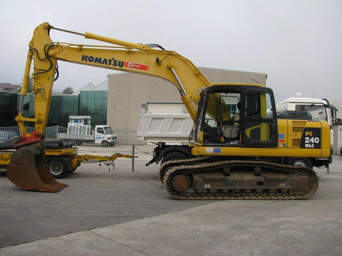 Komatsu PC210-8, PC210LC-8, PC210NLC-8, PC230NHD-8, PC240LC-8, PC240NLC-8 Hydraulic Excavator Service Repair Workshop Manual DOWNLOAD (S/N: K50001 and up)
