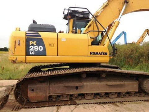 Komatsu PC290LC-6K, PC290NLC-6K Hydraulic Excavator Service Repair Workshop Manual DOWNLOAD  (S/N: K34001 and up)
