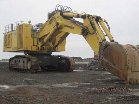 Komatsu PC3000-1 Hydraulic Mining Shovel Service Repair Workshop Manual DOWNLOAD (SN: 6202)