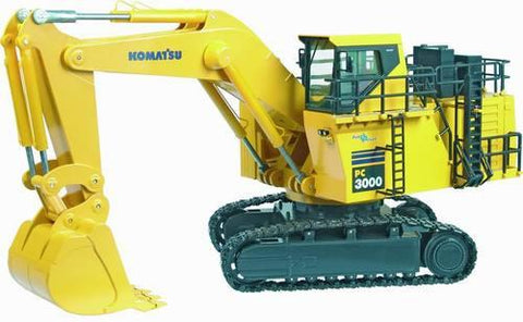 Komatsu PC3000-1 Hydraulic Mining Shovel Service Repair Workshop Manual DOWNLOAD (SN: 6171)