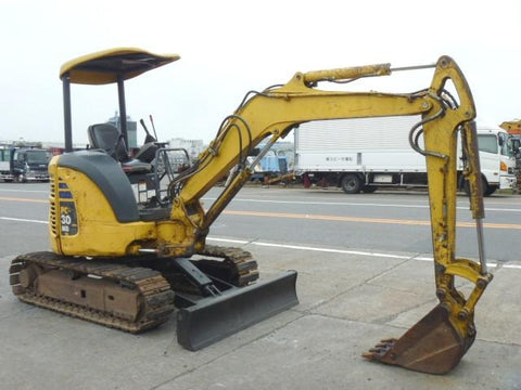 Komatsu PC30MR-2 PC35MR-2 Hydraulic Excavator Operation & Maintenance Manual Download (SN F20001 and up, 5001 and up)
