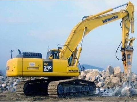 Komatsu PC340LC-7K, PC340NLC-7K Hydraulic Excavator Operation & Maintenance Manual DOWNLOAD (S/N: K40001 and up)