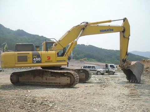 Komatsu PC450-8, PC450LC-8 Hydraulic Excavator Operation & Maintenance Manual DOWNLOAD (S/N: K50001 and up)