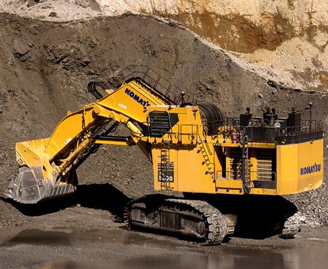 Komatsu PC5500-6 Hydraulic Mining Shovel Service Repair Workshop Manual DOWNLOAD (SN: 15023)