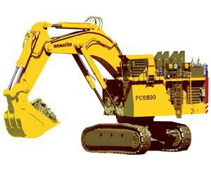 Komatsu PC5500-6 Hydraulic Mining Shovel Service Repair Workshop Manual DOWNLOAD (SN: 15038)