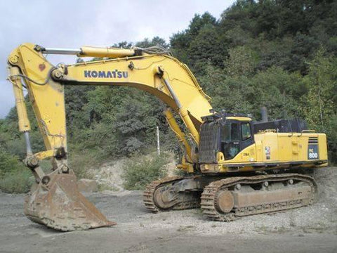 Komatsu PC800-8, PC800LC-8 Hydraulic Excavator Service Repair Workshop Manual Download (SN: 50001 and up)