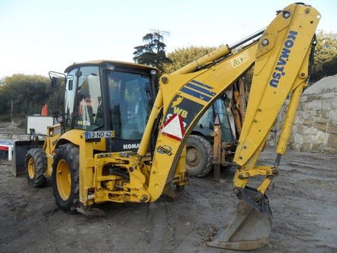 Komatsu WB93R-5 Backhoe-Loader Service Repair Workshop Manual Download (SN: F50003 and up)