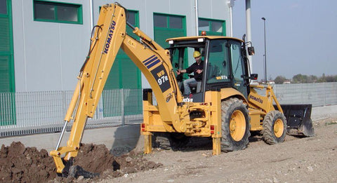 Komatsu WB97R-5 Backhoe-Loader Service Repair Workshop Manual Download (SN: F50003 and up)