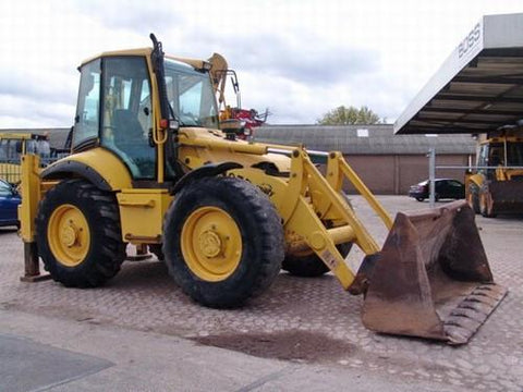 Komatsu WB97S-2 Backhoe-Loader Operation & Maintenance Manual Download (SN: 97SF11205 and up)