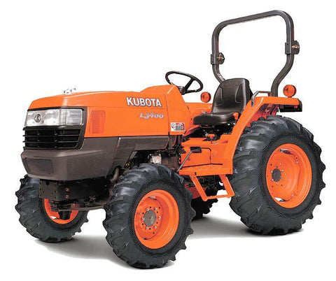 Kubota L3400DT Serial number 77748 Workshop Manual