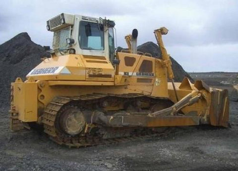 Liebherr PR712 PR712B PR722 PR722B PR732 PR732B PR736 PR742 PR742B PR752 Crawler Dozers Service Repair Workshop Manual DOWNLOAD