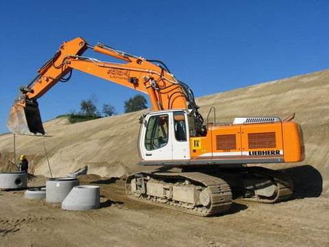 Best LIEBHERR R934C R944C R954C HYDRAULIC EXCAVATOR SERVICE REPAIR MANUAL - DOWNLOAD!