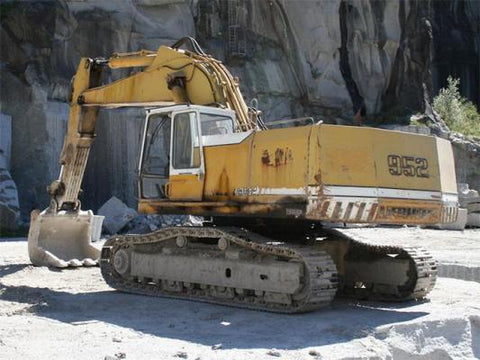 Best LIEBHERR R952 R962 R972 R982 CRAWLER EXCAVATOR SERVICE REPAIR MANUAL - DOWNLOAD!