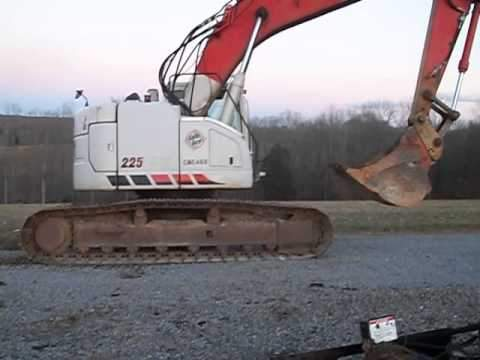 LINK-BELT 225 Spin Ace Crawler excavator Service Manual