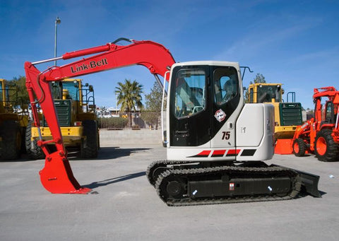LINK-BELT 75MSR Spin Ace Crawler excavator Service manual