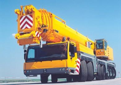 Libherr LTM 1400NX Mobile Crane with telescopic boom Operating Instructions Manual