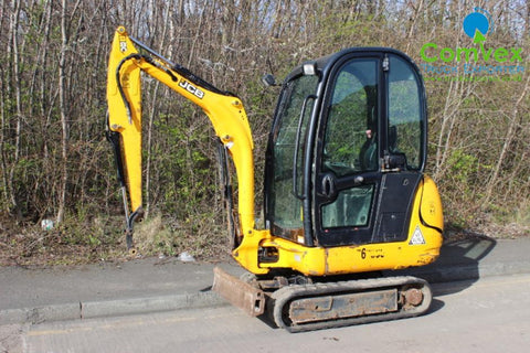 2011 JCB 8018 Mini Digger Workshop Service Repair Manual S/No : 1544897