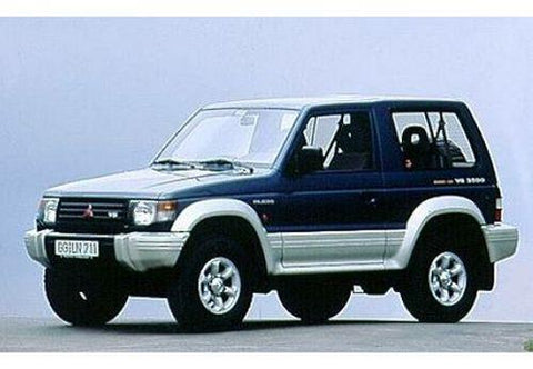 mitsubishi pajero 2000 2002 full service repair manual