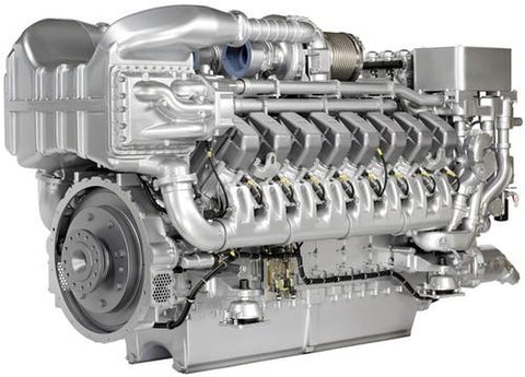 MTU DETROIT DIESEL 8V 10V 12V 16V 20V 6R INSTRUCTIONS MANUA