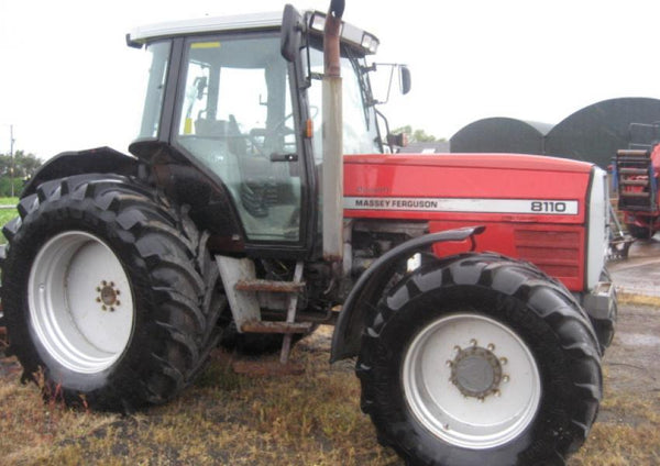 Massey Ferguson MF8100 Workshop Service Repair Manual