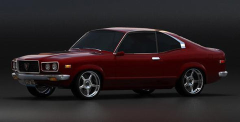 Mazda RX-3 Savanna Workshop Service Manual 1975